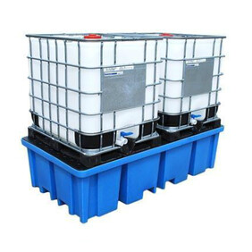 HS2 Double IBC Spill Pallet